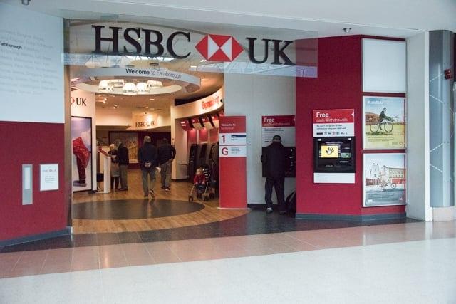HSBC Bank in Farnborough | Princes Mead Shopping Centre