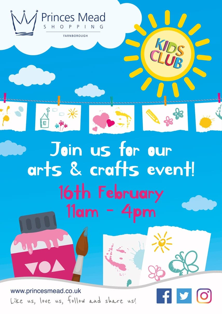 PM February Crafts FINAL - Our Events