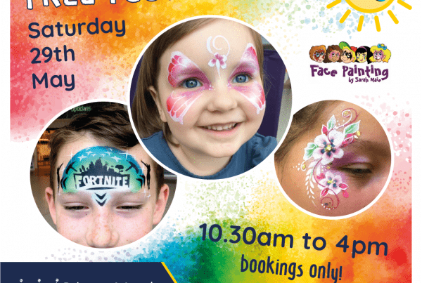 Princes Mead Kids Club Face Painting Social Media SQ 600x403 - Blog