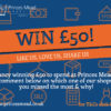 Social media £50 comp Facebook 100x100 - Win a £50 Voucher to spend at Princes Mead!