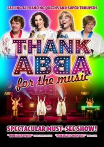 abba poster 212x300 - Win tickets to see Thank ABBA For The Music